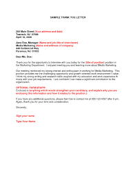 ideas collection sample thank you letter for internship