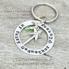 godmother keychain my fairy godmother keychain sted jewelry