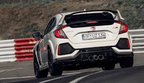 2017 honda civic type r sets fwd nurburgring record the torque