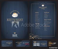 creative menu design layout design design set for menu