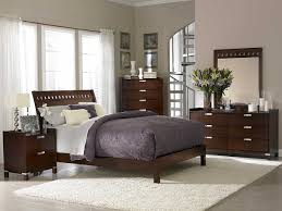 Neutral Bedroom Design - neutral bedroom design idea with fancy dark wood bed set completed