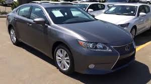 2016 lexus es300h owners manual new grey 2014 lexus es 350 fwd premium package review
