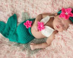 Infant Halloween Costume Etsy Baby Mermaid Costume Etsy
