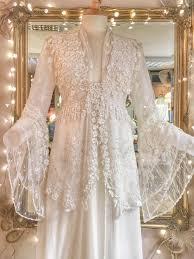 joanne fleming design blogantique lace bohemian wedding dress