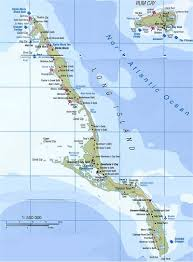 Channel Islands Map Interesting Map Of Long Island Bahamas