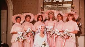 bridesmaids dresses a cultural history of bridesmaids dresses racked