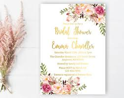 where to register for a bridal shower bridal shower invite etsy