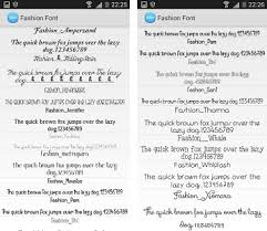 flipfont apk free fashion font flipfont free apk version 4 0