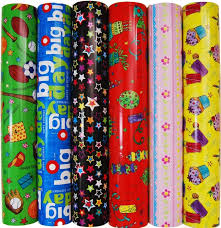 rolls of wrapping paper how are mums saving on gift wrapping paper