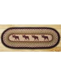 48 inch table runner memorial day sale earth rugs 64 019 oval braided printed table