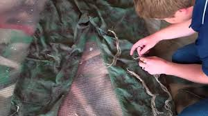 Ghillie Suit Halloween Costume Ghillie Suit Easy Instructions