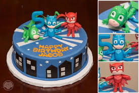 disney u0027s pj masks cake custom cakes pj mask pj