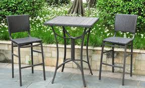 Tall Outdoor Chairs Patio U0026 Pergola 3 Piece Patio Sets Outdoor Bistro Set Clearance