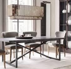 Dining Room Tables Restoration Hardware - restoration hardware dining room inspiration reclaimed wood wall