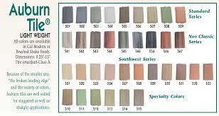Roof Tile Colors Products Auburn Tile Inc Concrete Roof Tile For Custom Homes