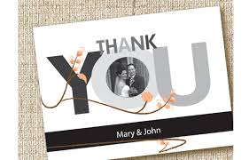 18 beautiful wedding thank you cards from stationery