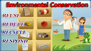 environmental conservation the 4 r u0027s reduce reuse recycle