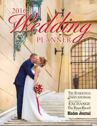 Wedding Planner Journal Richmond County Daily Journal Special Sections
