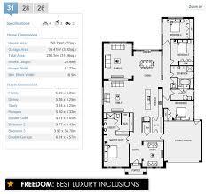 floor plans metricon santorini 31