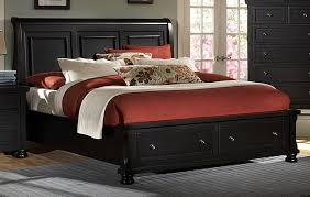 Bassett Bedroom Furniture Vaughan Bassett Reflections 534 Ebony Bedroom Group