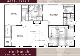 Split Two Bedroom Layout Plush Design Ranch House Plans Three Bedroom Bath 11 Small Two