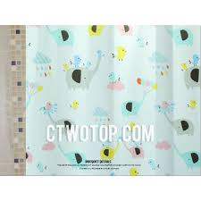 Elephant Curtains For Nursery Beautiful Kids Pink And Baby Blue Elephant Shower Curtains
