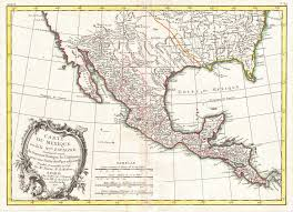 Map Of Mexico by File 1771 Bonne Map Of Mexico Texas Louisiana And Florida