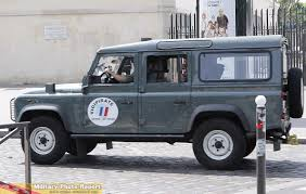 french land rover military photo report les land rover dans l u0027armée française