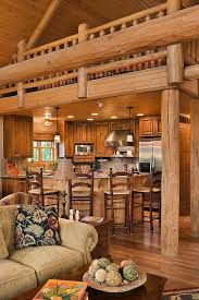 luxury log home interiors log home stairs rails log homes of america rustic