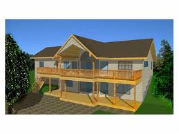 Walk Out Basement House Plans Hillside Walkout House Plans Hillside Walkout Plan Of The Week