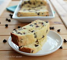 chocolate chip pound cake u2022 table for seven