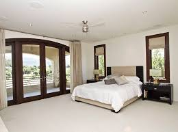 Master Bedroom Double Doors Napa California Mediterranean Estate Pictures Popsugar Home Photo 12