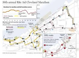 Powerball Map 2013 Rite Aid Cleveland Marathon Course Map And Info Cleveland Com
