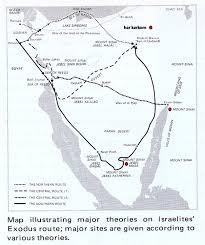 Exodus Route Map by Exodo De Egipto Desenmascarando Las Falsas Doctrinas Gabitos