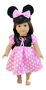 Minnie Mouse Clothes For Toddlers In Style Doll Clothes For American Dolls 18 Inch