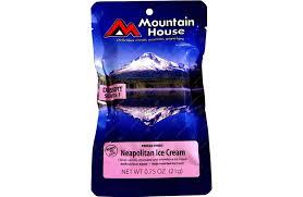 Mountain House Food Food Freeze Dried Mountain House Pouches Neapolitan