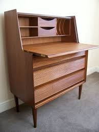 Bureau Desk Modern Mid Century Furniture Modern Teak And Rosewood Mid Century