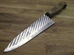 carbon kitchen knives razor sharp vintage xx forge carbon steel 400 8 blade