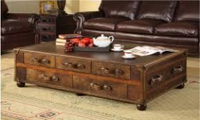 Chest Coffee Table New Treasure Chest Coffee Table Pertaining To Trunk End Amazing