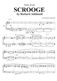 a carol scrooge suite richard addinsell piano