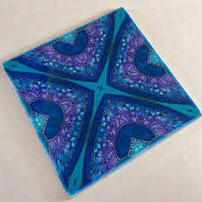 contemporary butterfly tiles blue lilac tiles beautiful tile