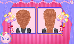 wedding hairstyles game android apps on google play
