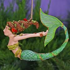 patience brewster mercy mermaid ornament