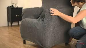 comment faire une housse de canapé housse de fauteuil à oreilles