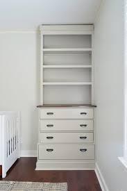 Dresser With Bookshelves by Installing Bedroom Built Ins Built Ins Dresser Bookshelf And
