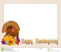 happy thanksgiving turkey stock vector illustration of footer