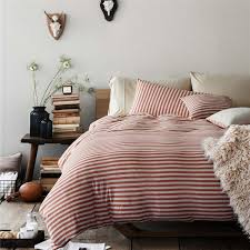 Jersey Cotton Duvet Set Pure Era Ultra Soft Egyptian Quality Jersey Knit Cotton Home