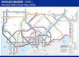 Shenzhen Metro Map Shenzhen Public Transport Page 5 Skyscrapercity