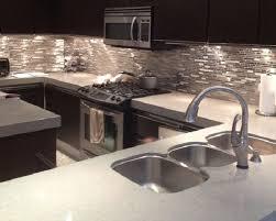 Kitchen With Glass Tile Backsplash Best 25 Modern Kitchen Backsplash Ideas On Pinterest Geometric