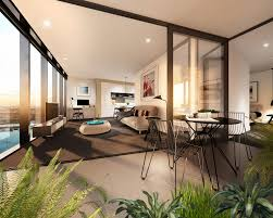 studio balcony glass interior design ideas